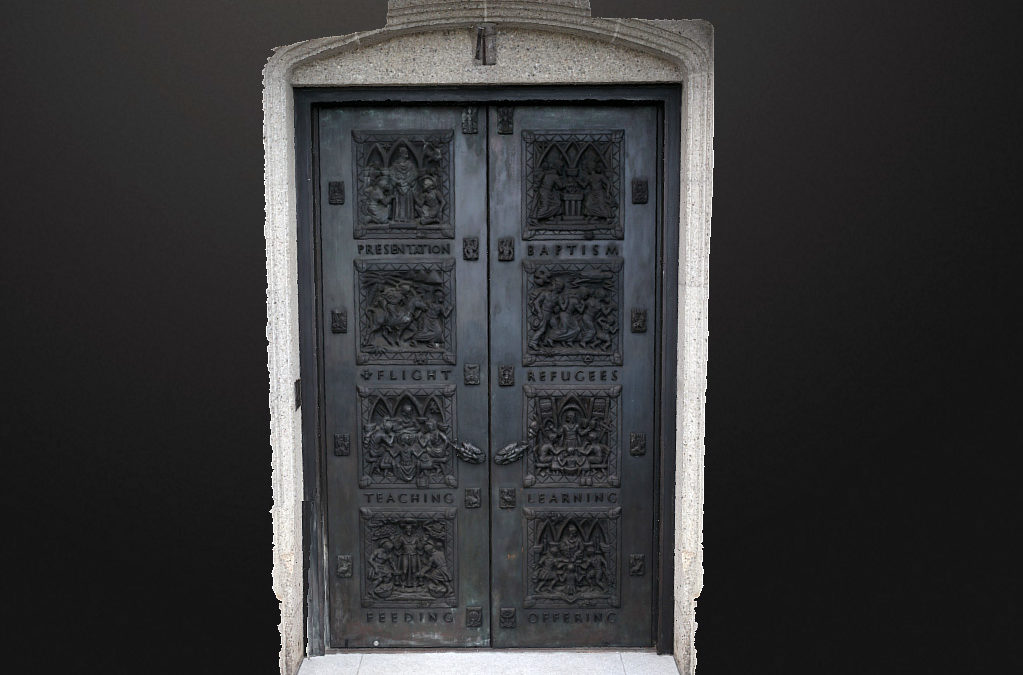 Grace Cathedral Door
