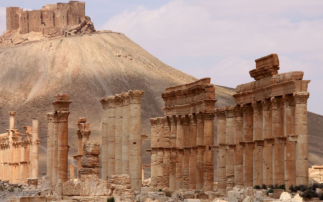 Cultural destruction of Palmyra continues
