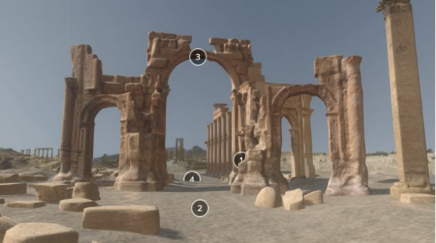 Arch of Triumph in Palmyra