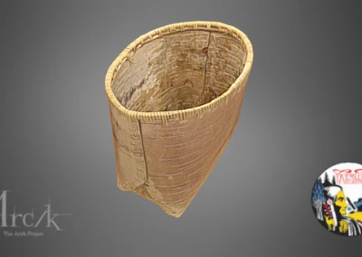 Birch Bark Basket of the Secwepemc Museum