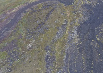 Iceland riverbed - drone photogrammetry