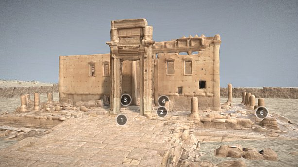 Temple Of Bel in Palmyra