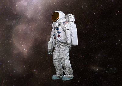 USA Space Suit Lunar mode