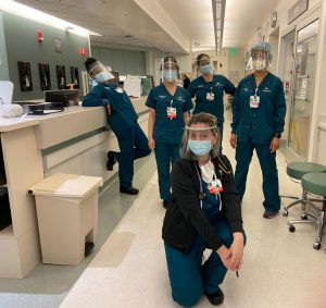 Cedars-Sinai Medical Center team with Arc/k Project 3D printed PPE face shields