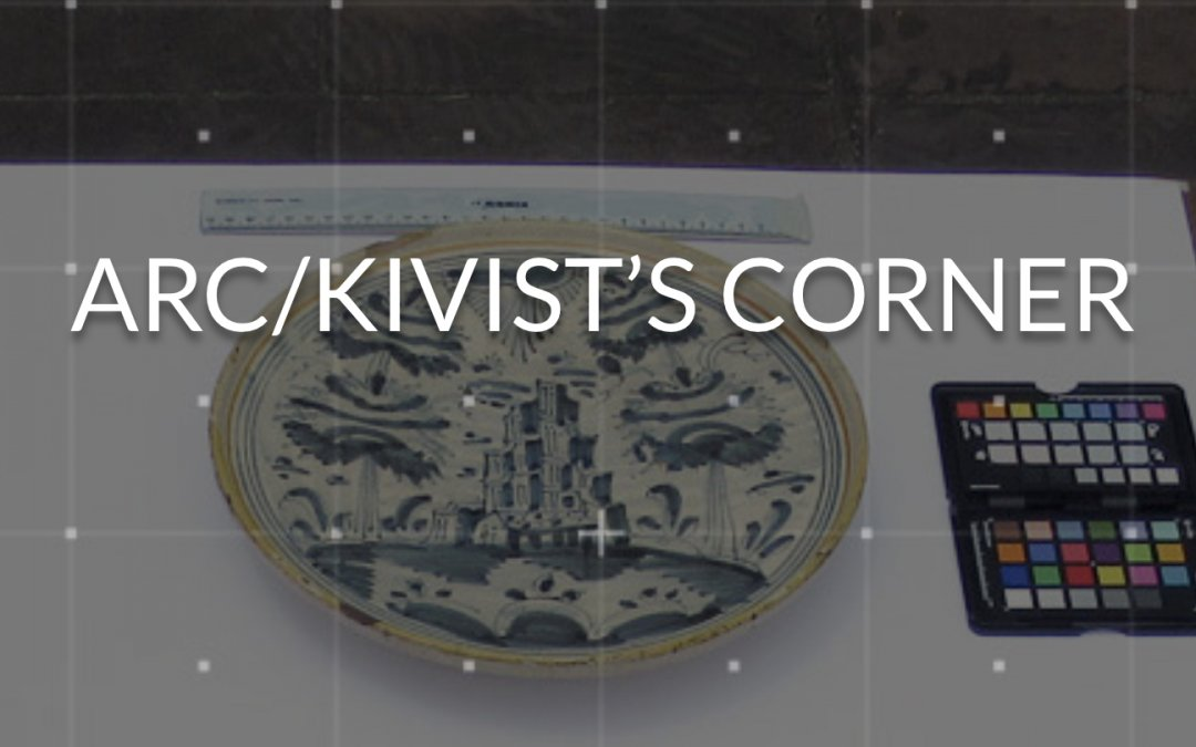 Announcing Our New Arc/kivist's Corner