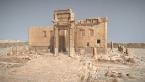 Image: Image from 3D model of Temple of Bel, Perpetuity Palmyra, The Arc/k Project