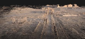The Arch of Triumph, Palmyra Perpetuity Palmyra, The Arc/k Project. Screenshot from the social VR 'Portals to the Past', The Arc/k Project, University of Oklahoma and Oklahoma Virtual Academic Laboratory project rendering