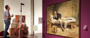 The Miranda en La Carraca | Commissioned painting from the National Art Gallery photo